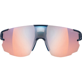 Julbo Aerospeed Segment Light Red Okulary przeciwsłoneczne, dark blue/dark blue/orange-multilayer blue